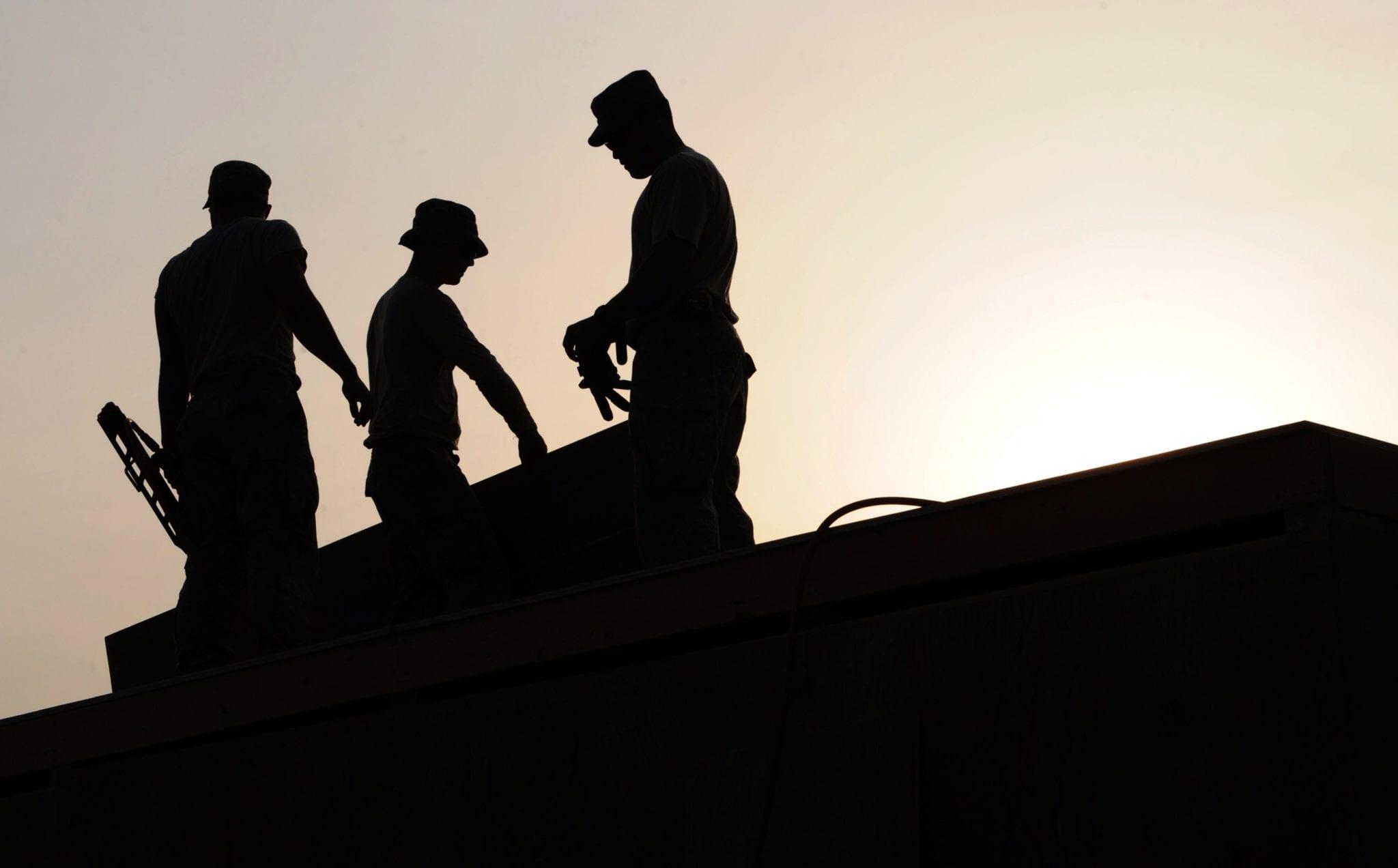 black-and-white-construction-job-38293